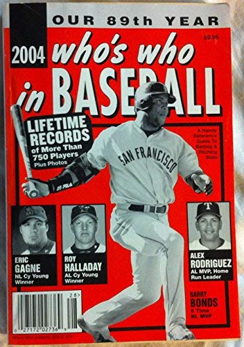 Who's Who in Baseball 2004