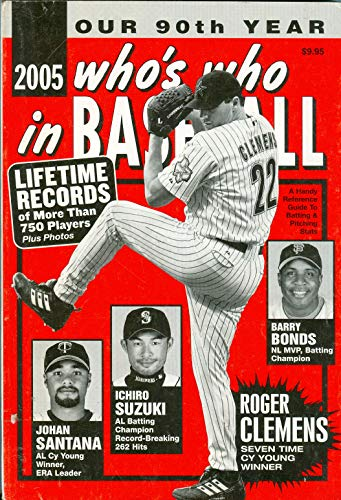 9780910692243: 2005 Who's Who in Baseball