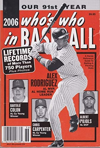 9780910692250: 2006 Who's Who in Baseball the 91st Edition