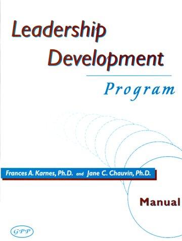 9780910707336: Leadership Development Program
