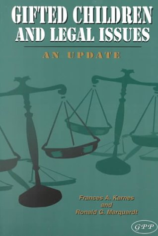 9780910707343: Gifted Children and Legal Issues: An Update