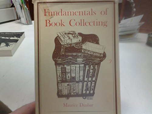 Fundamentals of book collecting