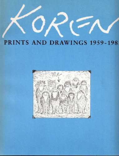 Edward Koren, prints and drawings, 1959-1981 (0910763003) by Edward Koren