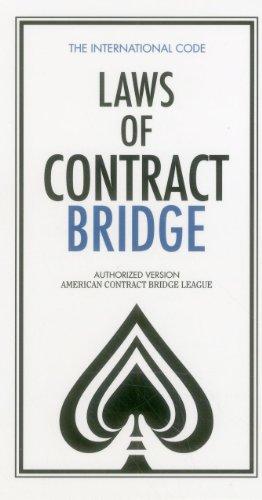 9780910791885: Laws of Contract Bridge