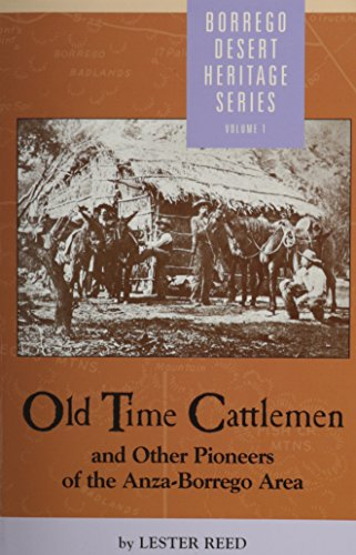 9780910805148: Old Time Cattlemen Anza-Borrego