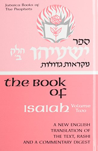 Book of Isaiah Volume 2: A New English Translation: A. J. Rosenberg