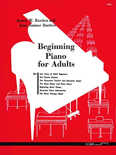 9780910842020: Beginning Piano for Adults (GP 23)
