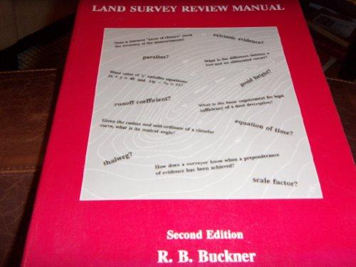 9780910845496: Land Survey Review Manual