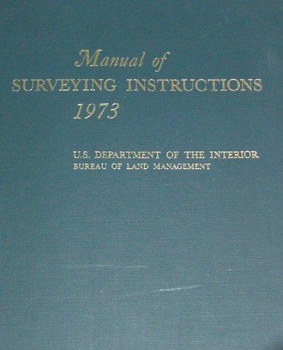 Manual of surveying instructions 2009.