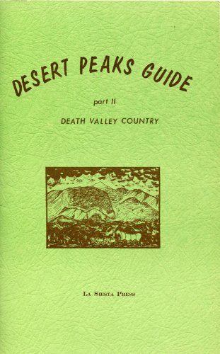 Desert Peaks Guide Two: Wheelock, Walt