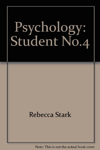 Psychology: Student, No.4 (Psychology): n/a