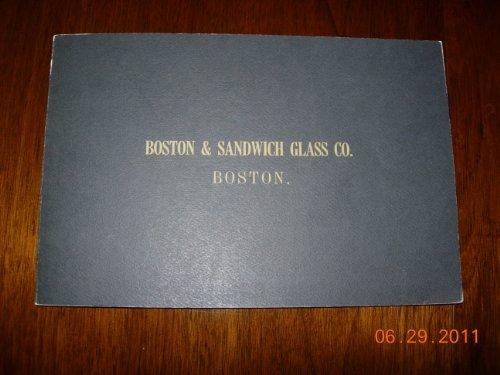 9780910872065: Boston and Sandwich Glass Company Factory Catalogue