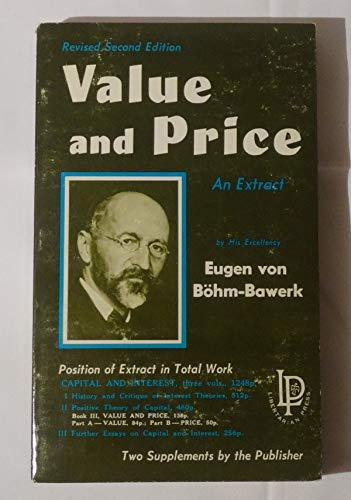 9780910884013: Value and Price (Capital and Interest Extract)