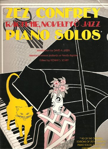 9780910957038: Zez Confrey Piano Solos Ragtime, Novelty, and Jazz