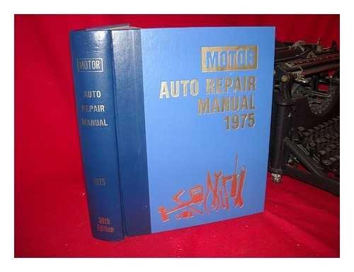 Motor Auto Repair Manual 1975: Motor