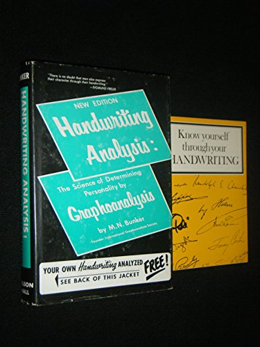 Handwriting Analysis: The Science of Determining Personality: Milton Newman Bunker