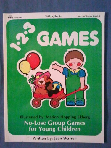 9780911019094: Totline 123 Games (1-2-3 Series) (No-Lose Games: Ages 2-6)