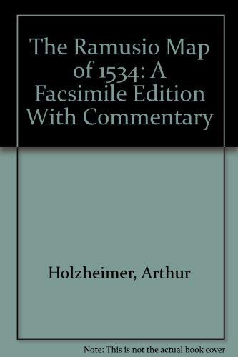 9780911028515: The Ramusio Map of 1534: A Facsimile Edition With Commentary