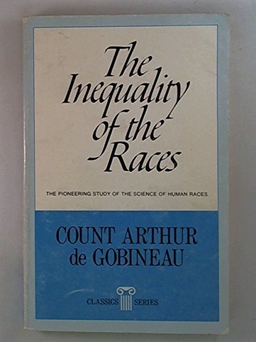 9780911038026: The inequality of human races