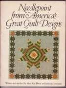 9780911104424: Needlepoint from America's great quilt designs