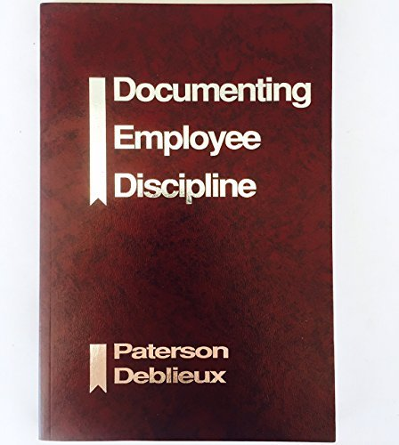 Documenting Employee Discipline: Lee T. &