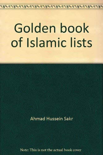 9780911119558: Golden book of Islamic lists