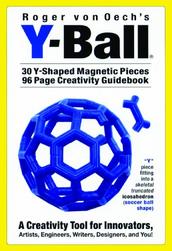 9780911121094: Y-Ball [With 30 Y-Shaped Magnetic Pieces and Creativity Guidebook]