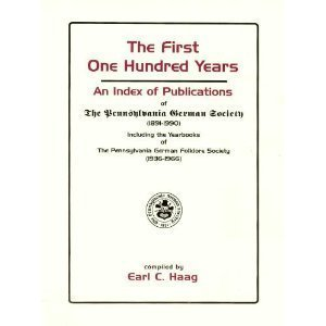 First One Hundred Years, The: An Index of Publications of The