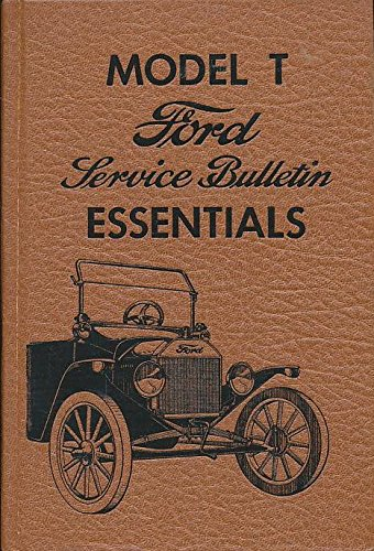 9780911160192: Model t Ford Service Bulletin Essentials