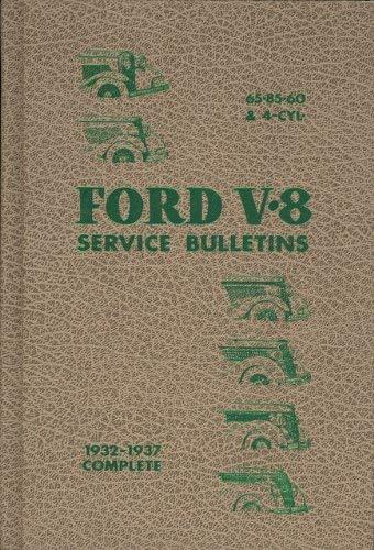 9780911160321: Ford V-8 service bulletins, 1932-1937 complete