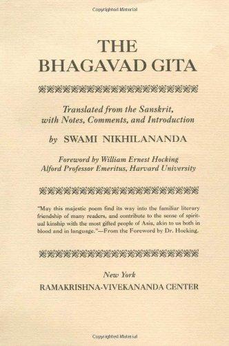 9780911206098: Bhagavad Gita