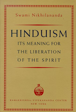 9780911206265: Hinduism : Its Meaning for the Liberation of the Spirit