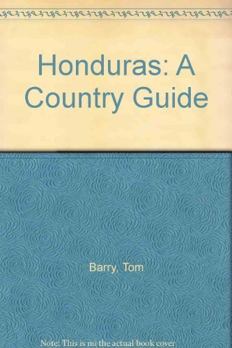 9780911213225: Honduras: A Country Guide