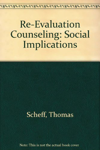 9780911214482: Re-Evaluation Counseling: Social Implications