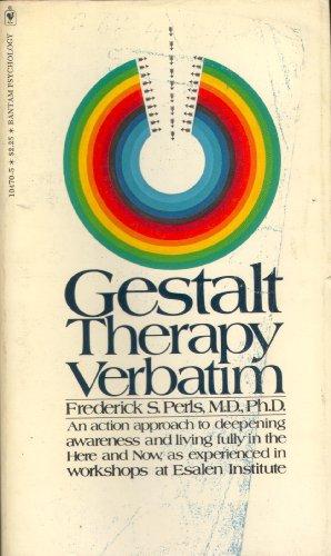 9780911226034: Gestalt Therapy Verbatim