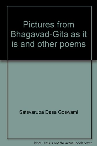 9780911233414: Pictures from Bhagavad-Gita as it is and other poems