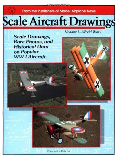 9780911295023: Scale Aircraft Drawings: World War I