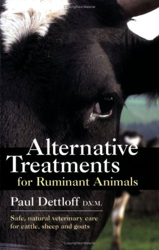 9780911311778: Alternative Treatments for Ruminant Animals