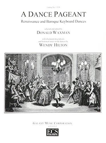 9780911318180: Dance Pageant: Renaissance and Baroque Keyboard Dances/13136