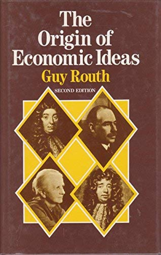 9780911378894: The Origin of Economic Ideas