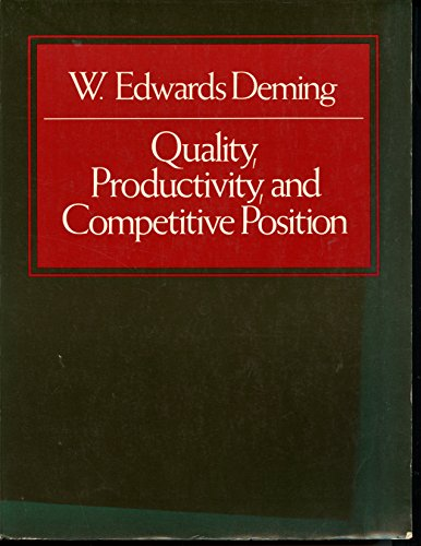 9780911379006: Quality Productivity and Competitive Position