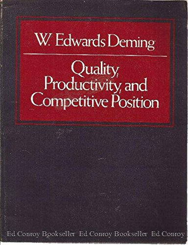 Quality Productivity Competition: W. Edwards Deming
