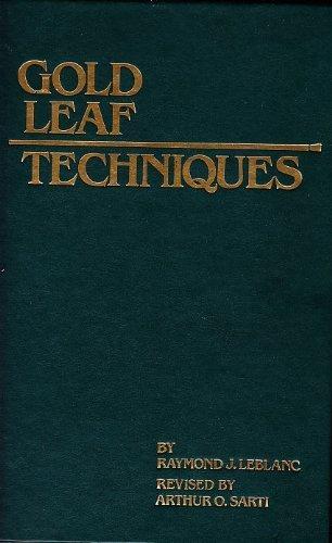 9780911380507: Gold leaf techniques