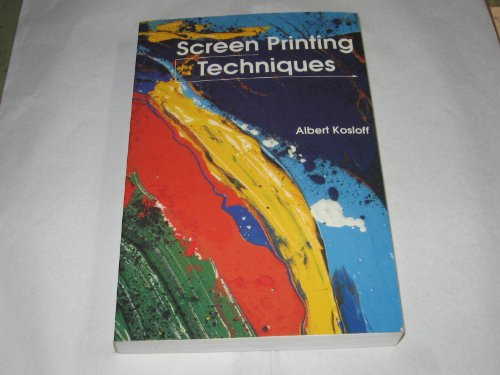 9780911380521: Screen Printing Techniques