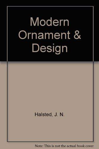 9780911380668: Modern Ornament and Design