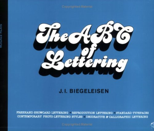 9780911380729: The ABC of Lettering