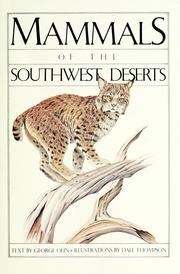 Mammals of the Southwest Deserts