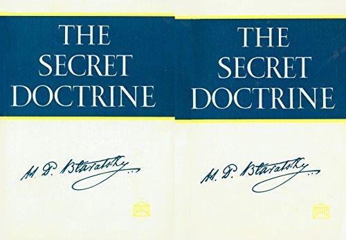9780911500011: The Secret Doctrine: Vol. 1: Cosmogenesis, Vol. 2: Anthropogenesis