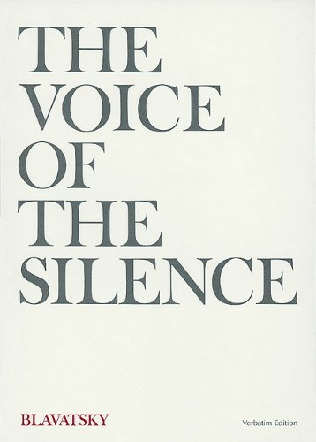 9780911500042: The Voice of the Silence (Verbatim Edition)