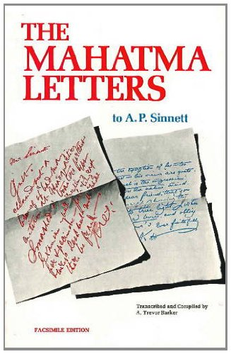 9780911500202: Mahatma Letters to A. P. Sinnett (Facsimile of 1926)